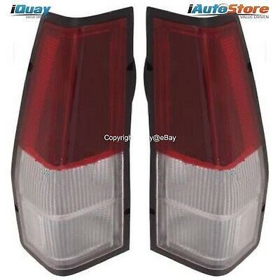 Ford Falcon '81-'98 XD-XE-XF-XG-XH Ute Clear Tail Lights Lamps