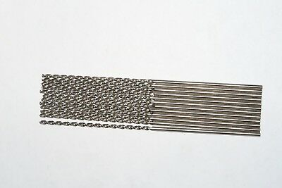 12 new GREENFIELD #47 Parabolic Wide Land Taper Drills 135º Notched, Bright, USA
