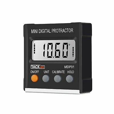 Magnetic Digital Angle Finder LCD Gauge Level Protractor Tool Inclinometer