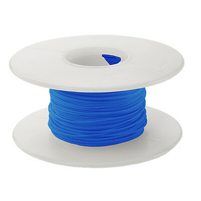 24 AWG Kynar Wire Wrap UL1422 Solid Wiremod type 100 foot spools BLUE NEW!