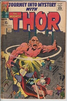 The Mighty Thor 121 Jack Kirby Silver Age
