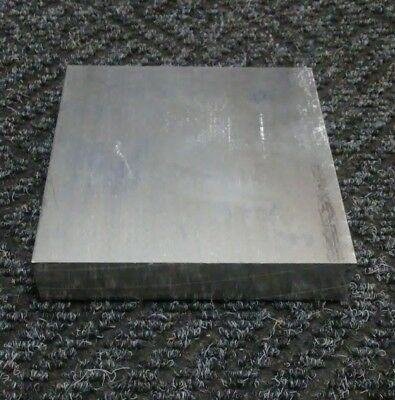 "1 pc 1"" X 4"" X 4"" long new 6061 T6511 solid aluminum plate flat bar stock block"