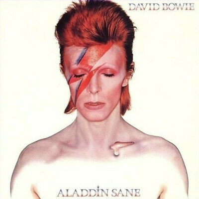 David Bowie Aladdin Sane limited 45th anniversary SILVER vinyl LP g/f sleeve NEW