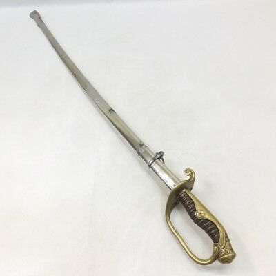 A105: Real, Vintage Japanese military saber called SHIKITO for army commander