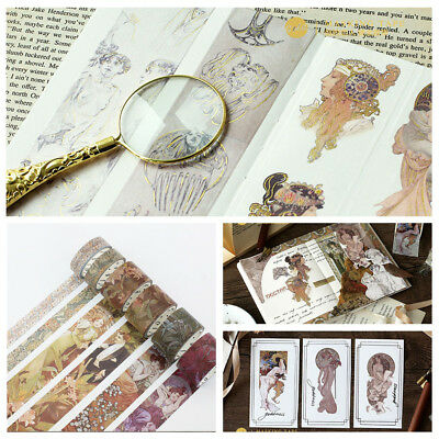 Vintage European Epic Washi Tape DIY Decoration for Scrapbooking Masking Tape