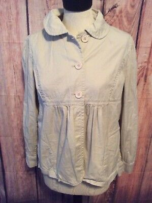 A Pea In The Pod Maternity Jacket, Medium, Tan, EUC