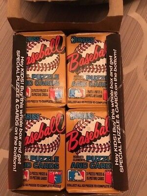 Box of Donruss 1987 Baseball Cards-still in sealed, unopened package - 36 packs