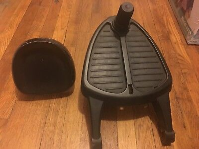 Bugaboo Stroller Wheeled Buggy Board With Seat Stroller Attachment 85500WB01