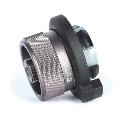 G-Works Screw Type Compatible Adapter Butane Gas Nozzle Converter