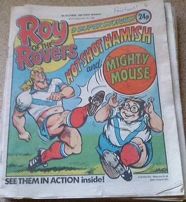Roy of the Rovers 05th October 1985 Combined Postage Offered For Multiple Buys