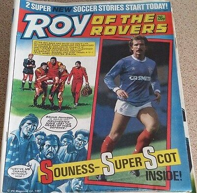 Roy of the Rovers 31st January 1987