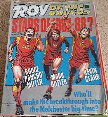 Roy of the Rovers 15th August 1987