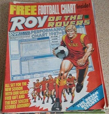 Roy of the Rovers 22nd August 1987