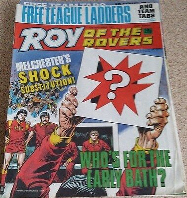 Roy of the Rovers 12th September 1987