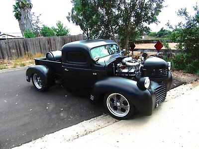 1947 Dodge Other Pickups CUSTOM 1947 DODGE CUSTOM 1 OF A KIND SHOW WINNER PICK UP W PAXTON SUPERCHARGER MUST SEL
