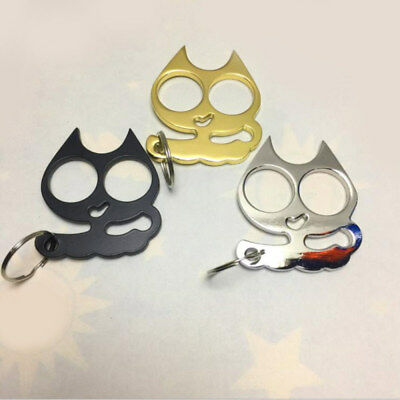 Metal Cat-Self-Defense Tools Portable Key Chain Outdoor Travel Safe Women