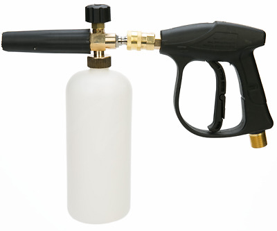 "1/4"" Quick Connector Pressure Snow Foam Lance Car Washer Bottle Gun Cannon Jet"
