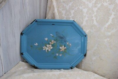 antikes Emaille Tablett Frankreich brocante shabby chic