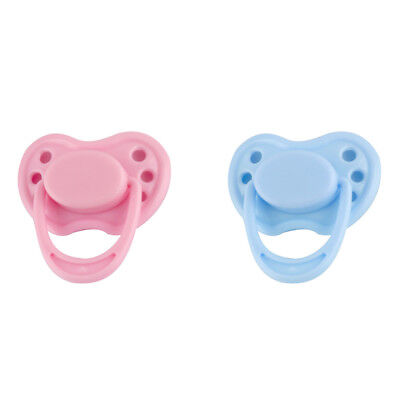 Magnetic Pacifier Dummy Soother For Reborn Baby Dolls Internal Magnet Gifts
