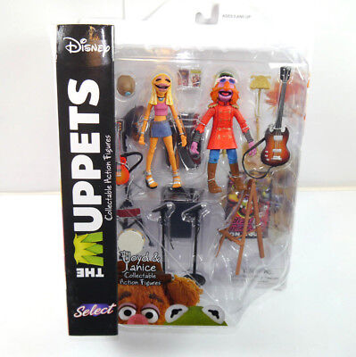 DISNEY SELECT The Muppets - Floyd & Janice Actionfigur DIAMOND SELECT Neu (L)