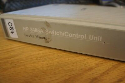 hp agilent 3488a switch control unit operating programming and rh picclick co uk hp 3468a manual HP All in One Desktop Manuals