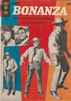 Bonanza Number 17. Gold Key Comics 1965. 12 Cent Issue. Tv Western Related