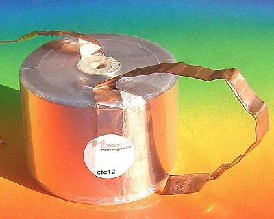 1 x MUNDORF CFC12 2,70mh Mcoil  Kupfer Spule crossover High end copper foil coil