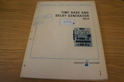 HP/Agilent 1825A Time Base and Delay Generator Ops and Service Manual Loc: 202
