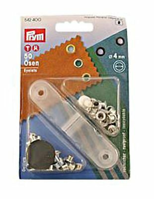 PRYM Messing-Ösen gelb 8.0mm x24 Stk