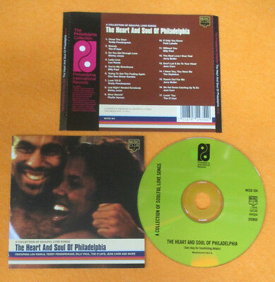 CD Compilation The Heart And Soul Of Philadelphia O'JAYS BILLY PAUL no lp(C47)