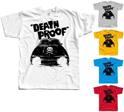 Death Proof V1, movie poster, Quentin Tarantino T SHIRT WHITE all sizes S-5XL