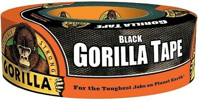 "Gorilla Glue Black Gorilla Tape 1.88"" x 35 yd 1 ea (Pack of 8)"