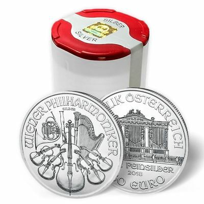 2018 Silver Philharmonic 1 oz Silver Coin Sealed Tube