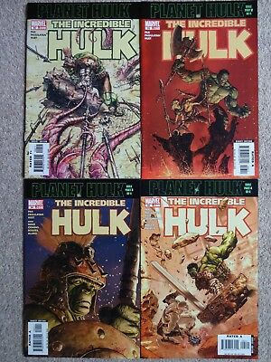 INCREDIBLE HULK Issues 92 93 94 & 95 2006 (Near Mint)