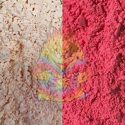 SolarColorDust! Red - Photochromic Sunlight Sensitive Color-Changing pigment