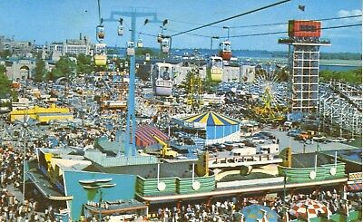 The Canadian National Exhibition CNE Toronto ON Skyride c1973 Postcard D6