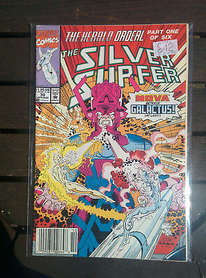 Silver Surfer #70 - Marvel Comics 1992  - THE HERALD ORDEAL