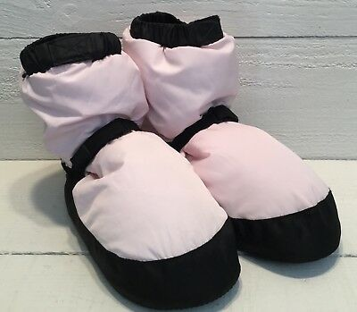 Bloch Linna And Max Warm Up Booties Dance Ballet Candy Pink Adult Size Small