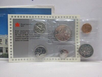 1987 Canadian Uncirculated Coin Set-