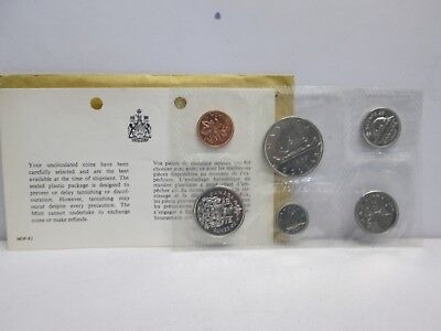 1967 Canadian Uncirculated Coin Set