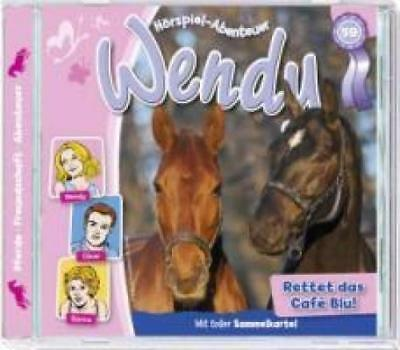 Wendy 59. Rettet das Cafe Blu, Audio-CD
