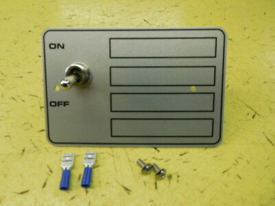 Hobart Mixer -A200-A120 Switch plate & Switch with conectors and screws