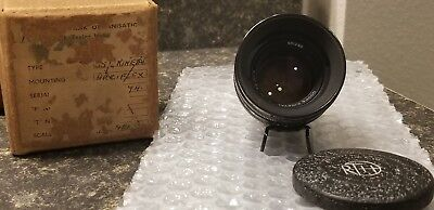 COOKE KINETAL 50mm 1.8 T2 by RANK TAYLOR HOBSON for ARRIFLEX 16mm