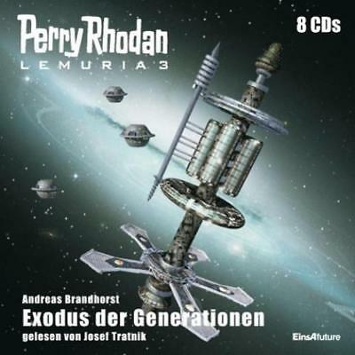 Brandhorst, Andreas: Perry Rhodan Lemuria 03 - Exodus der Generationen, Audio-CD