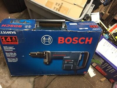 Bosch 11316EVS 14 Amp SDS-Max Demolition Hammer Electric New