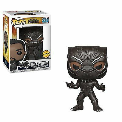 Funko Pop! Marvel: Black Panther Movie - Black Panther 273 Vinyl (Chase)