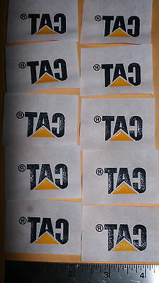 14 New CAT Caterpillar Iron on heat transfer Shirt Patches Patch, 7 diffr colors