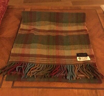 Fantastic Authentic MUBERRY tasselled lambswool scarf