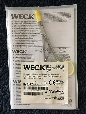 Weck Hemoclip Traditional Ligating Clip Applier -- new, in package -- free ship