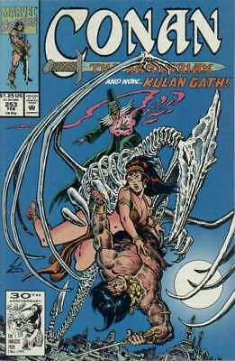 Conan the Barbarian (1970 series) #253 in Near Mint - condition. FREE bag/board